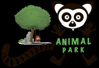 Логотип - Animal park, контактный зоопарк в Киеве